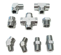 HIGH PRESSURE STEEL FITTING